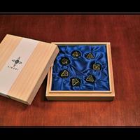高岡銅器 シノビダイスセット7種入   Xinobi Dice gift box