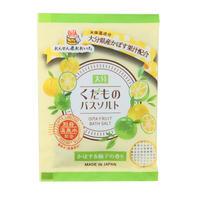 大分くだものバスソルト  かぼす&柚子の香り    07665