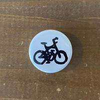 正屋自転車マーク缶バッジ