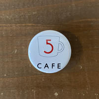 5CAFEロゴ缶バッジ