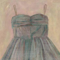 麻のドレス