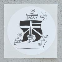 Atushi Toyama collaboration Sticker