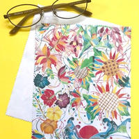 石垣島の花々を描いたマイクロファイバークロス