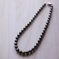 南洋黒真珠のネックレス
