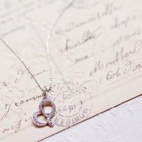 ダイヤのハートネックレス