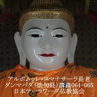 スマナサーラ長老のダンマパダ講義064-065(MP3音声)