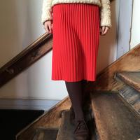 USA製 パッションカラー プリーツスカート