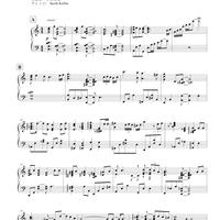 積水ハウスの歌(楽譜)
