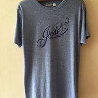 Jade ロゴTシャツ ヘザーブルー
