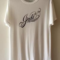 Jade ロゴTシャツ ホワイト