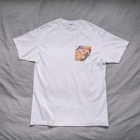 【T-shirts】happen Amsterdam  'Bee sticks stroopwafel' (T200801-wht)