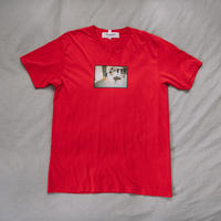 【T-shirts】happen Barcelona  'dog poo' (T200802-red)