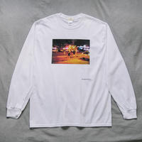 【Long T-shirts】happen New York   'NY NIGHT GIRL'  (19211901TP061-wht)