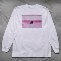 【Long T-shirts】happen Hawaii  'HI PNK WALL OJISAN'(19211901TP062-wht)