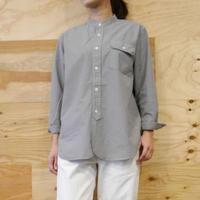 JAMES&CO. STANDARD SHIRTS/Band Collar Shirts