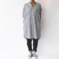 【Pujol】ビックシャツ ワンピース 〔4色〕