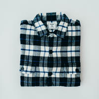 【Flannel Shirts】col. ネイビー