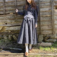 Black dot dress
