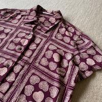 Heart designed shirt