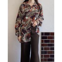 Patchwork pattern shirt