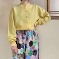 Made in Scotland 80s pastel cardigan
