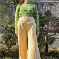 Light green stretch spring sweater