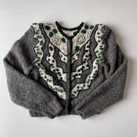 [リール掲載]Made in West Germany handmade cardigan