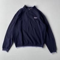 【SALE】Oversize half zip sweatshirt