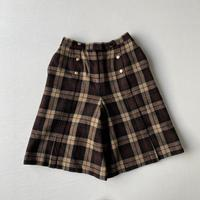 Plaid half pants