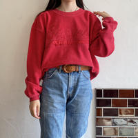 Towel cloth red sweatshirt