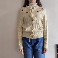 【SALE】Embroidery cardigan