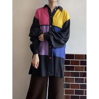 80s neon color shirt