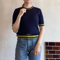 Navy summer knit