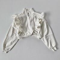 【SHINPIN×jane's vintage】Fril short sweatshirt
