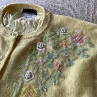 Vintage bijou cardigan