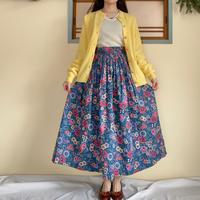 München flower pattern skirt