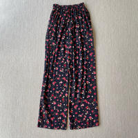 Made in USA flower pattern easy pants