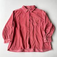 Pink corduroy shirt