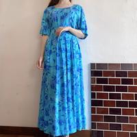 Rayon blue dress