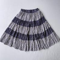 Small flowers skirt