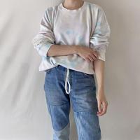 Light tie dye pullover