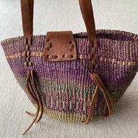 Fringe straw bag