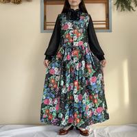 Flower apron dress