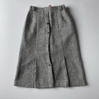 [リール掲載]Made in Japan wool skirt