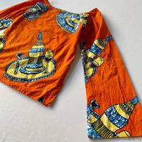 African batik top