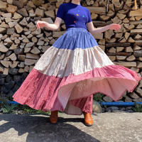 Country tiered skirt