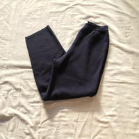 Navy color knit pants