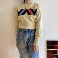 Pastel yellow knit