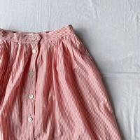 Pink stripe skirt