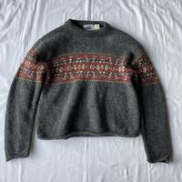 【SALE】Round neck sweater